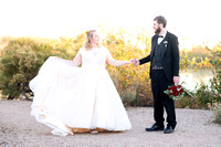 Britty & Ben's Wedding - Riparian Preserve