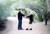 Kacia & Bryan's Engagement at Desert Botanical Garden