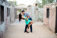 Nayeli & Aaron's Engagement at Scorpion Gulch